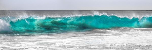 Aqua Wave, Indian Ocean Waves, Bunker Bay, Margaret River, Western Australia - Photographic Art