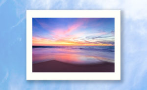 Aussie Sunset, Claytons Beach Art Print design by Dave Catley featuring a typical Aussie Sunset, Claytons Beach, Mindarie available from our MADCAT.RedBubble.com store.