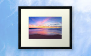 Aussie Sunset, Claytons Beach Framed Print design by Dave Catley featuring a typical Aussie Sunset, Claytons Beach, Mindarie available from our MADCAT.RedBubble.com store.