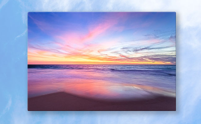 Aussie Sunset, Claytons Beach Photographic Print design by Dave Catley featuring a typical Aussie Sunset, Claytons Beach, Mindarie available from our MADCAT.RedBubble.com store.