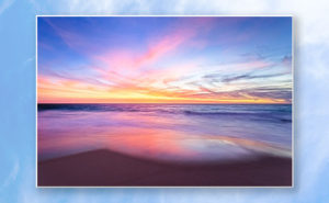 Aussie Sunset, Claytons Beach Poster design by Dave Catley featuring a typical Aussie Sunset, Claytons Beach, Mindarie available from our MADCAT.RedBubble.com store.
