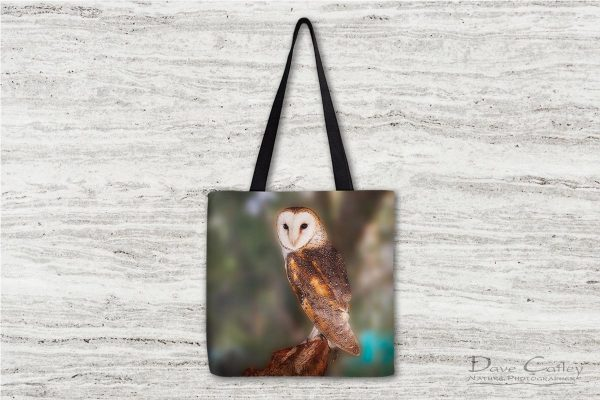 Chips - Barn Owl, Native Animal Rescue, Perth, Western Australia, Wildlife Tote Bag(NAR1.8-V1-TB1)