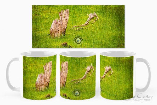 Sailing the Sea of Grass - Bells Rapids, Swan Valley, Perth, Western Australia, Landscape Mug (BRV1.1-V1-MG1)