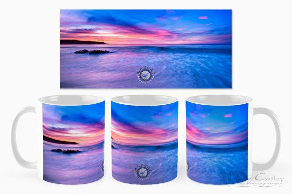Pinky Blue - Bunker Bay, Geographe Bay, Margaret River, Western Australia, Seascape Mug (BBS2.1-V1-MG1)