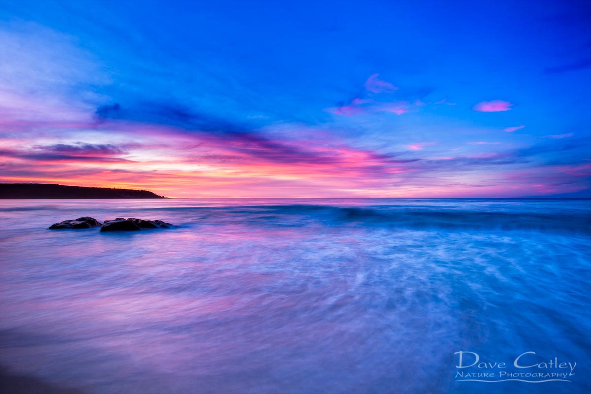 Pinky Blue - Bunker Bay, Geographe Bay, Margaret River, Western Australia, Seascape Print (BBS2.1-V1-TH1)