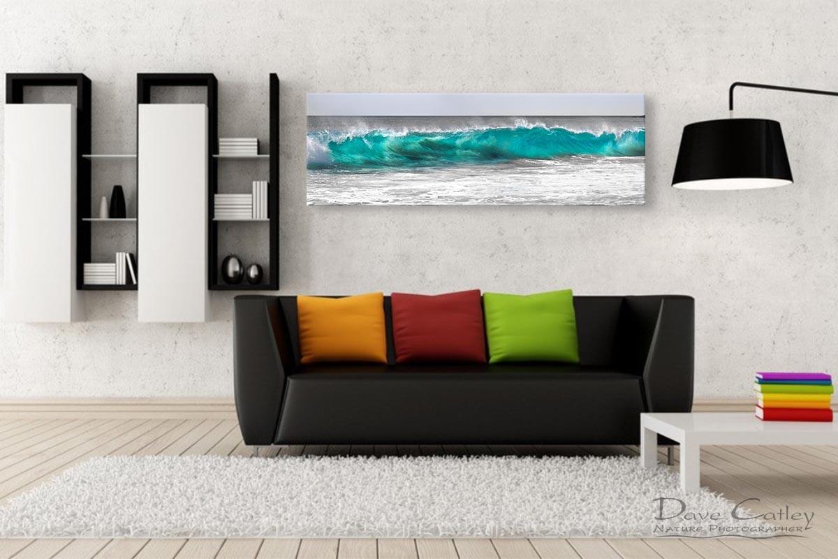 Aqua Wave - Bunker Bay, Geographe Bay, Margaret River, Western Australia, Seascape Print (BWP1.1-V1-PH1)