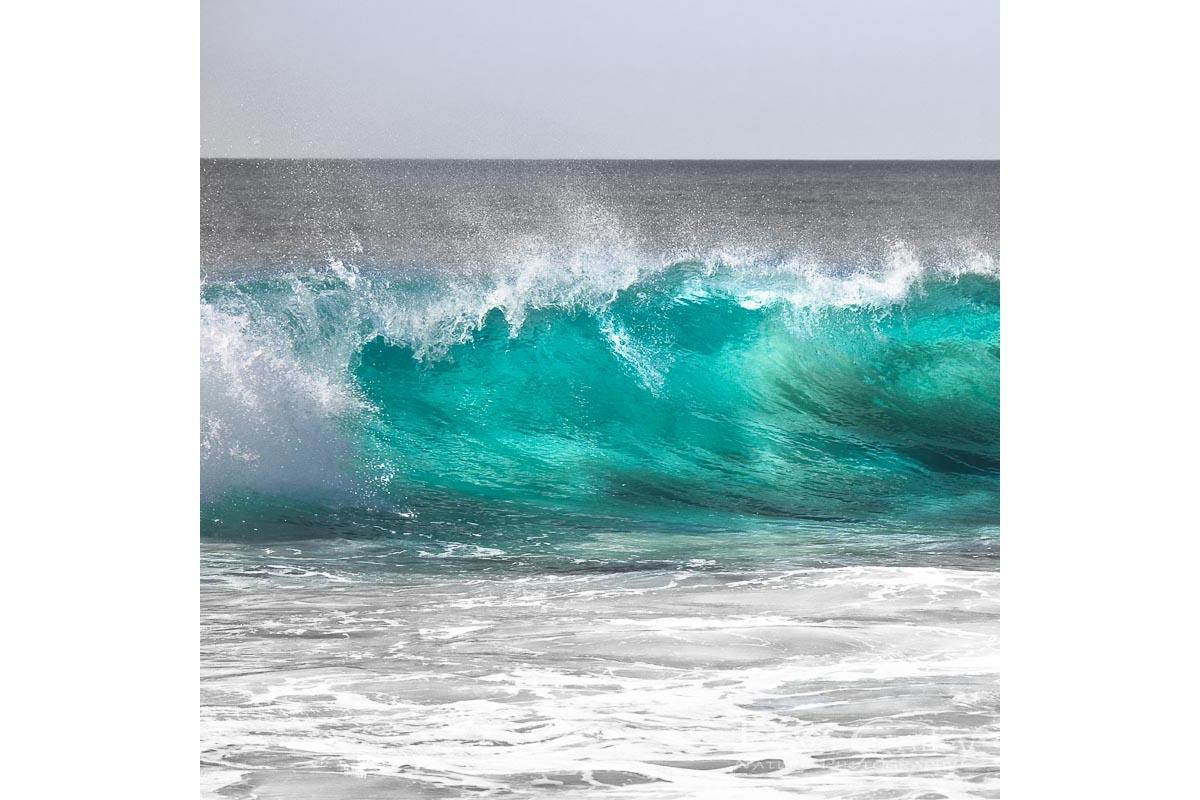 Aqua Wave - Bunker Bay, Geographe Bay, Margaret River, Western Australia, Seascape Tote Bag (BWP1.1-V1-TB1)