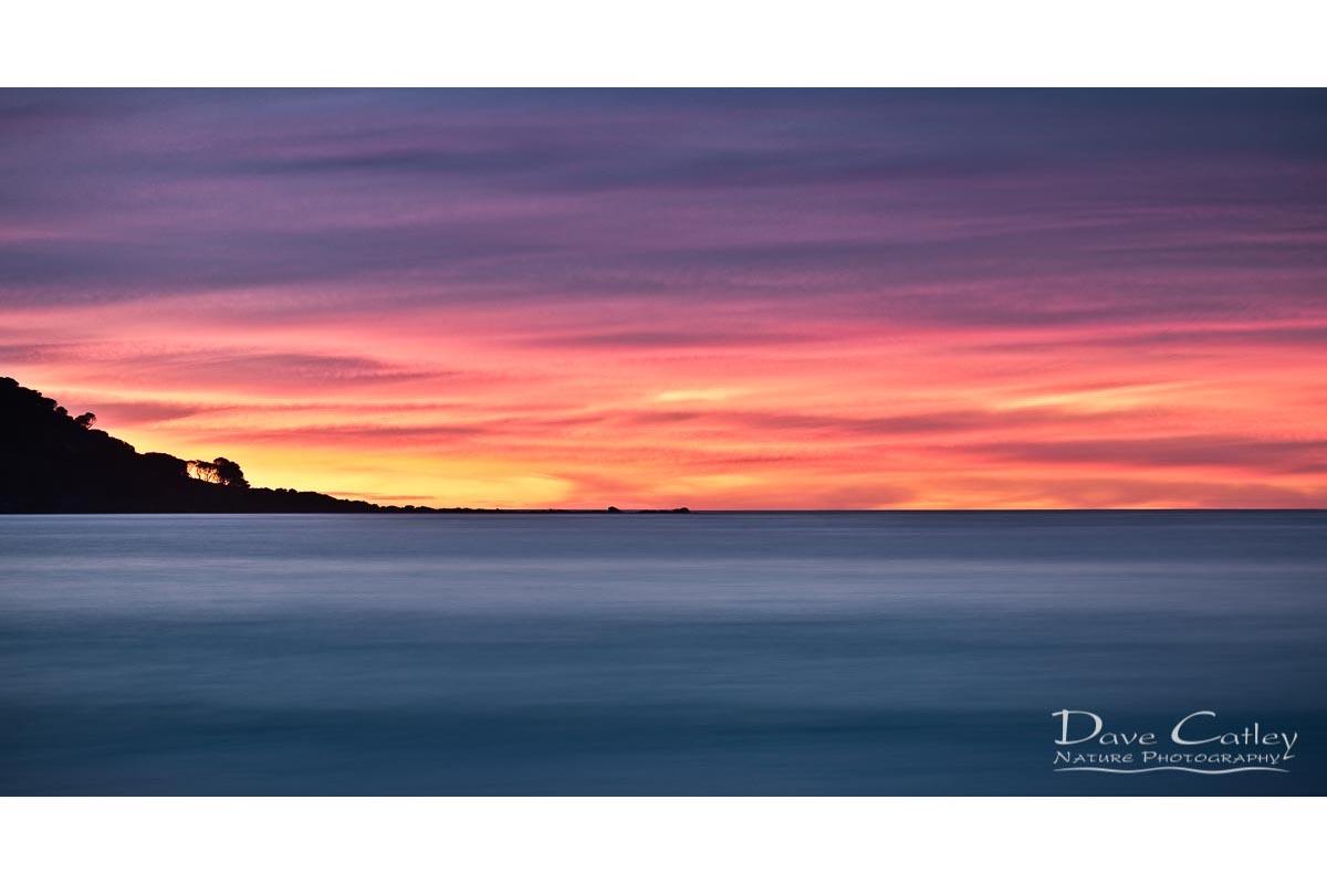 Sunset Peninsula - Bunker Bay, Naturaliste, Margaret River Region, Western Australia, Seascape Stubby Holder (BBP1.1-V1-SH1)