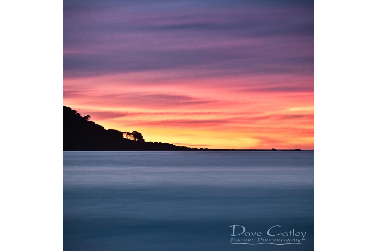 Sunset Peninsula - Bunker Bay, Naturaliste, Margaret River Region, Western Australia, Seascape Tote Bag(BBP1.1-V1-TB1)