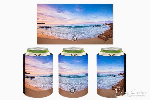 Moonscape - Bunker Bay, Naturaliste, Margaret River, Western Australia, Seascape Stubby Holder (BBP1.2-V2-SH1)