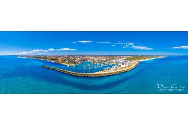 Marina Vista - Coastline Panorama, Mindarie, Perth, Western Australia, Seascape Print (MCD1.2-V1-PH1)