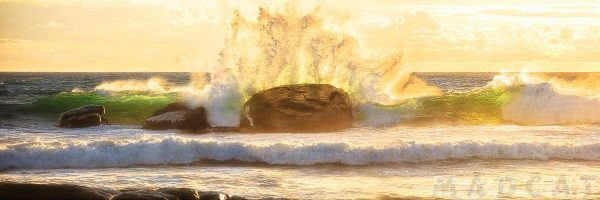 Crashing Waves, Redgate Beach, Margaret River, Western Australia - Photographic Art