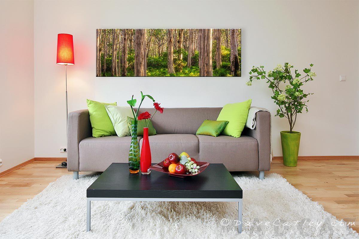 Forest Twilight 1, Boranup Forest, Margaret River, Western Australia - Living Room 1 Canvas 60in (BFV1.1-V3-TH1)