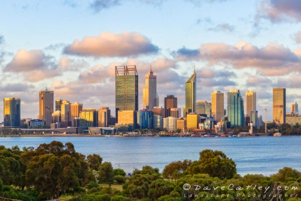 The Ever Changing Colours of the Perth City Skyline – 2