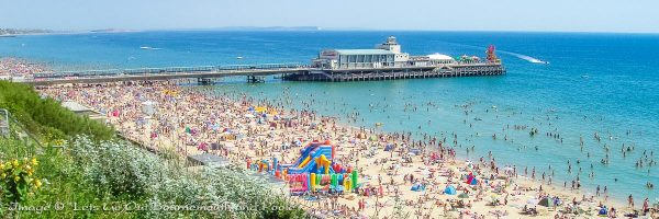 Grockles, Bournemouth Beach, Bournemouth, Dorset