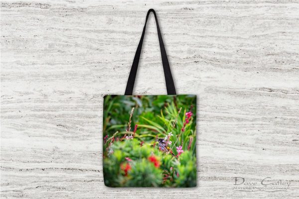 New Holland Honeyeater - Honeyeater, Bushy Lakes, Margaret River, Western Australia, Wildlife Tote Bag (MRB1.1-V1-ON1-TB1)