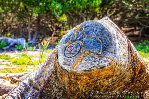 Kangaroo Carving, Yanchep National Park, Perth, Western Australia