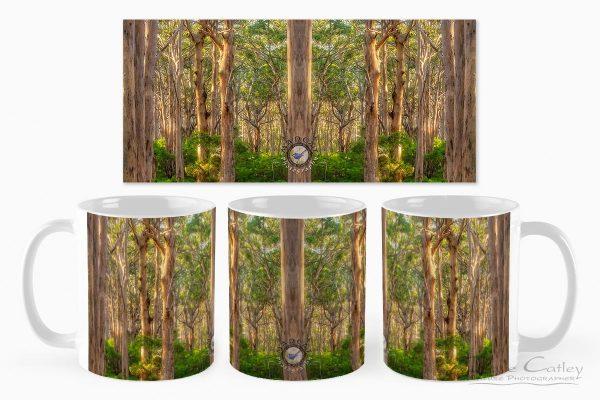 Forest Twilight 2 - Karri Trees, Boranup Forest, Margaret River, Western Australia, Landscape Mug (BFV1.2-V3-MG1)