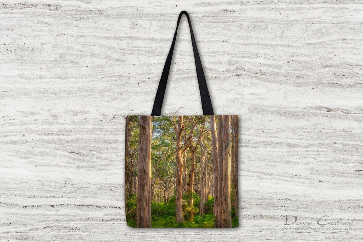 Forest Twilight 2 - Karri Trees, Boranup Forest, Margaret River, Western Australia, Landscape Tote Bag(BFV1.2-V3-TB1)