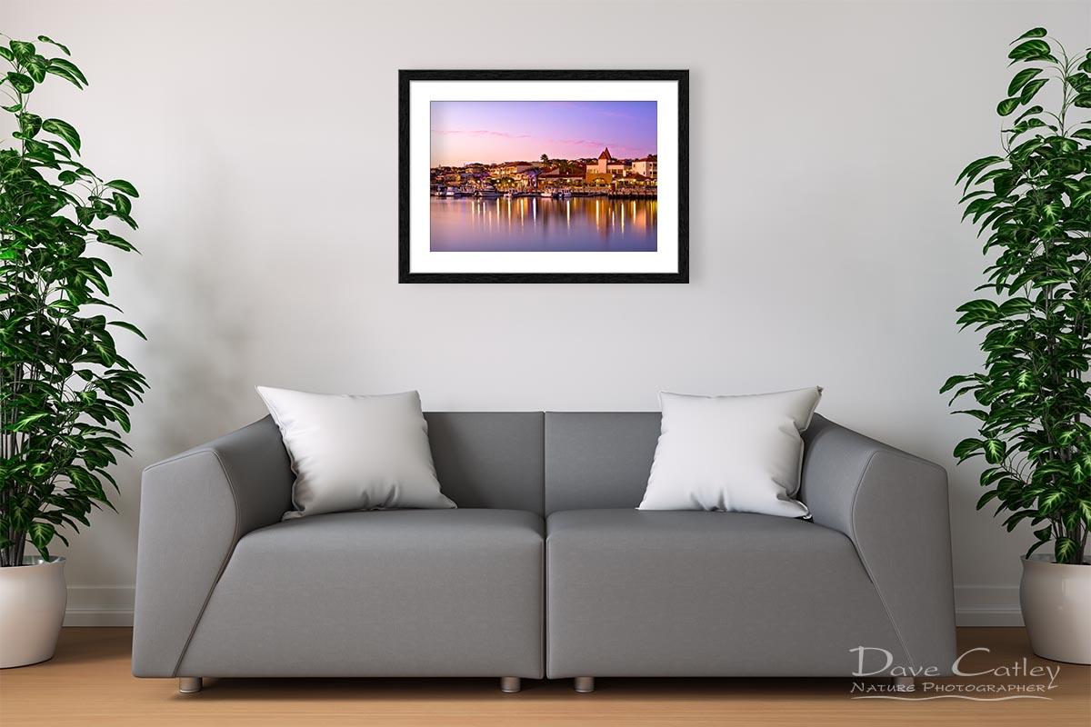 Marina Sunset - Mindarie Marina, Mindarie, Perth, Western Australia, Seascape Print (MMS1.13-V3-TH1)