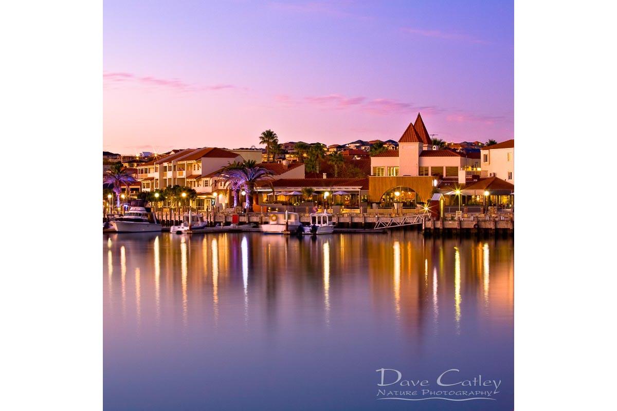 Marina Sunset - Mindarie Marina, Mindarie, Perth, Western Australia, Seascape Tote Bag (MMS1.13-V3-TB1)