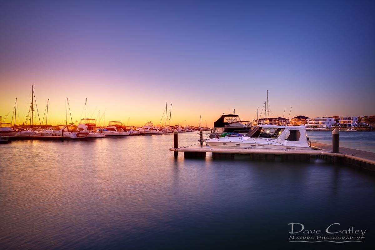 Marina Gold - Mindarie Marina, Wanneroo, Perth, Western Australia, Seascape Print (MMS2.1-V1-TH1)