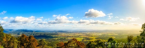 Mountain Vista, Mount Tamborine, Gold Coast, Queensland - Photographic Art