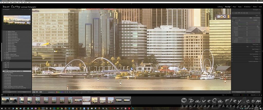 Blowup of Elizabeth Quay from the Final 35MP Image to Show the Detail
