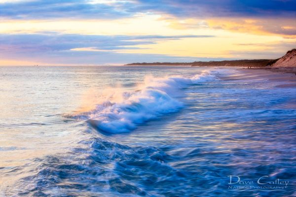 Sunsets & Waves - Quinns Beach, Quinns Rocks, Perth, Western Australia, Seascape Print (QBV1.5-V1-TH1)