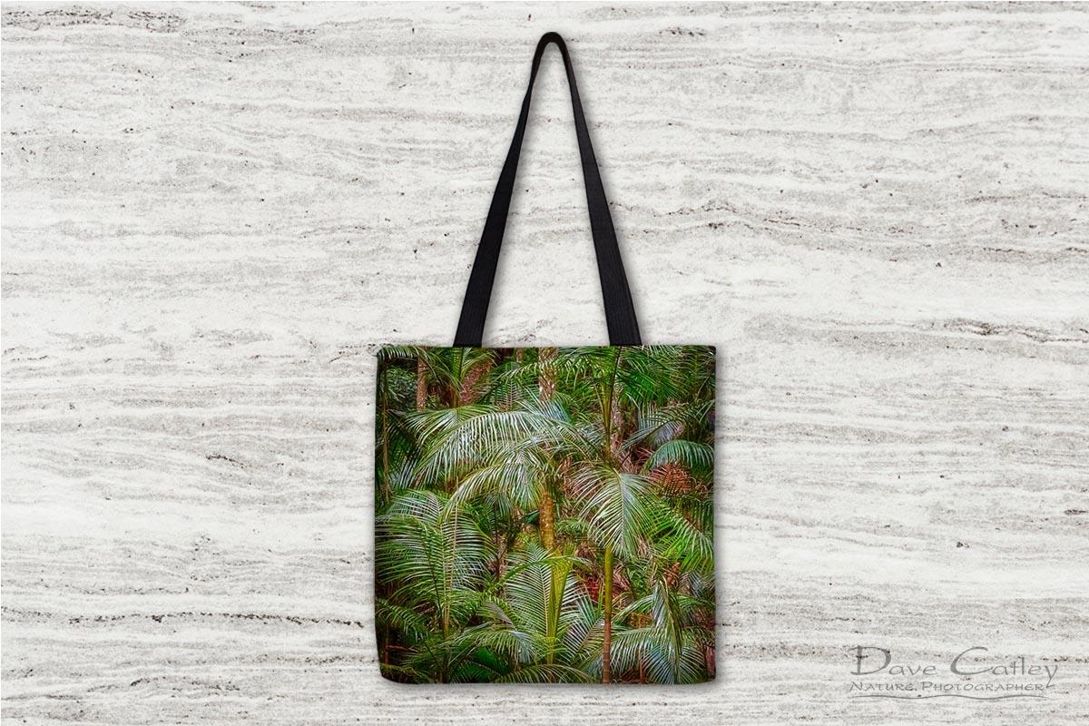Deep in the Forest - Rainforest, Tamborine Mountain, Tamborine, Queensland, Landscape Tote Bag (GCR1.1-V1-TB1)