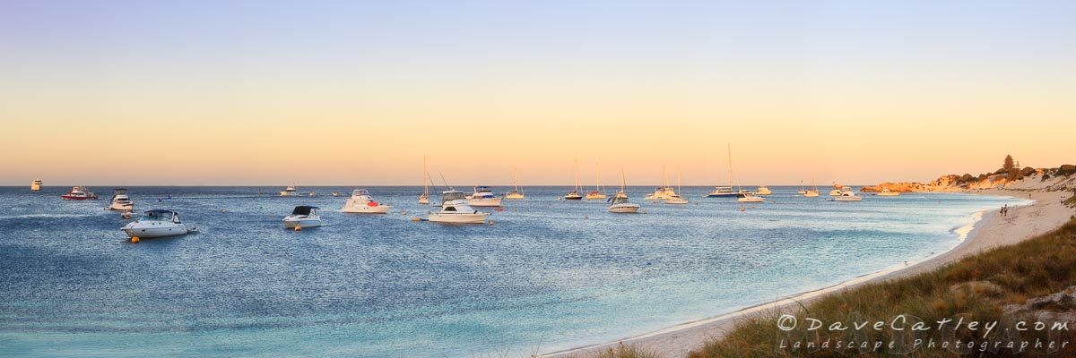 Rotto Sunset, Longreach Bay, Rottnest Island, Western Australia - Photographic Art