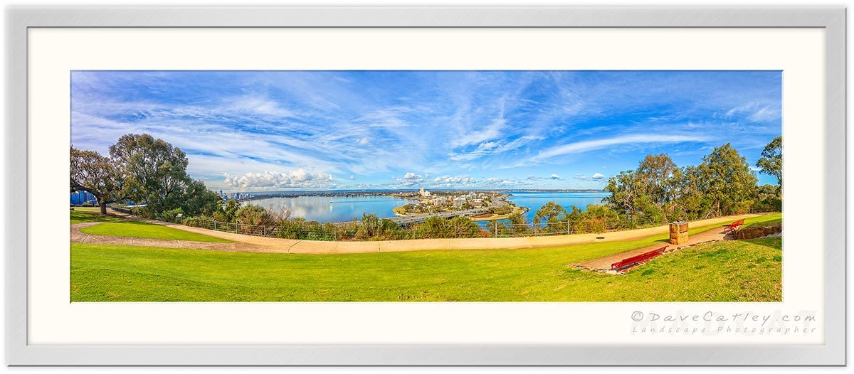 South Perth View, Kings Park, Perth, Western Australia - Photographic Art