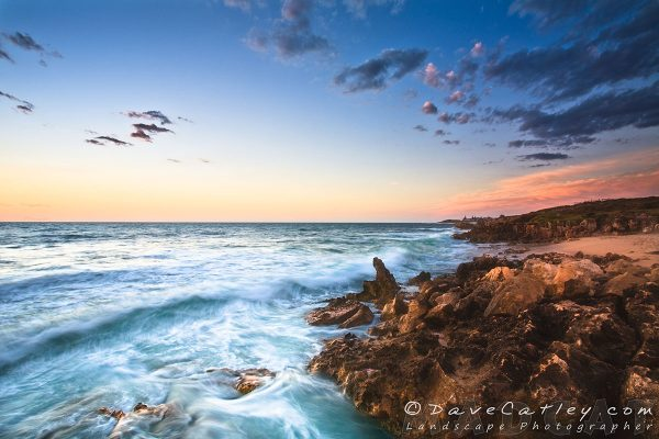 Sunset Waves, Mindarie, Perth, Photographic Art