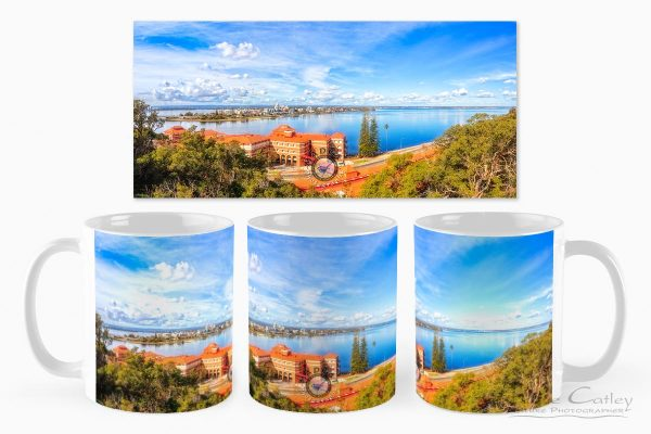 South of the Brewery - Swan Brewery, Kings Park, Perth, Western Australia, Landscape Mug (KPP1.2-V3-MG1)