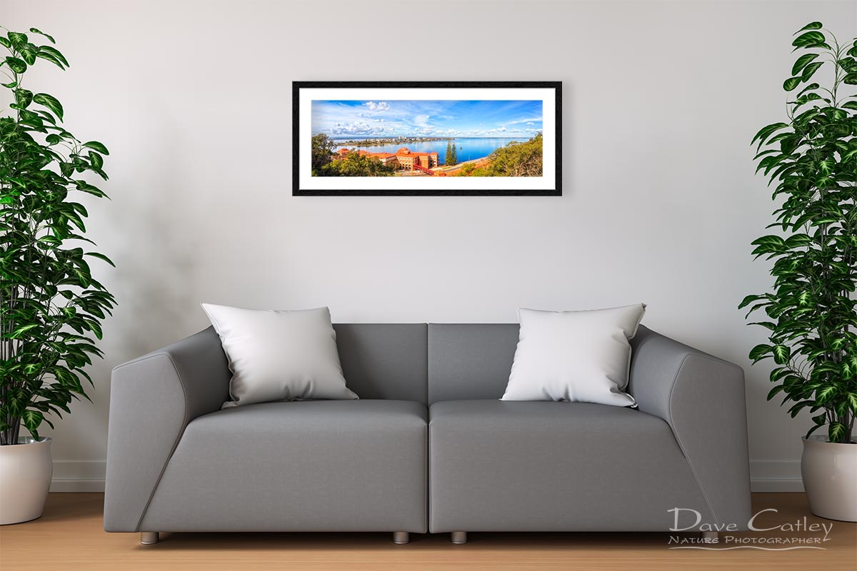 South of the Brewery - Swan Brewery, Kings Park, Perth, Western Australia, Landscape Print (KPP1.2-V3-PH1)