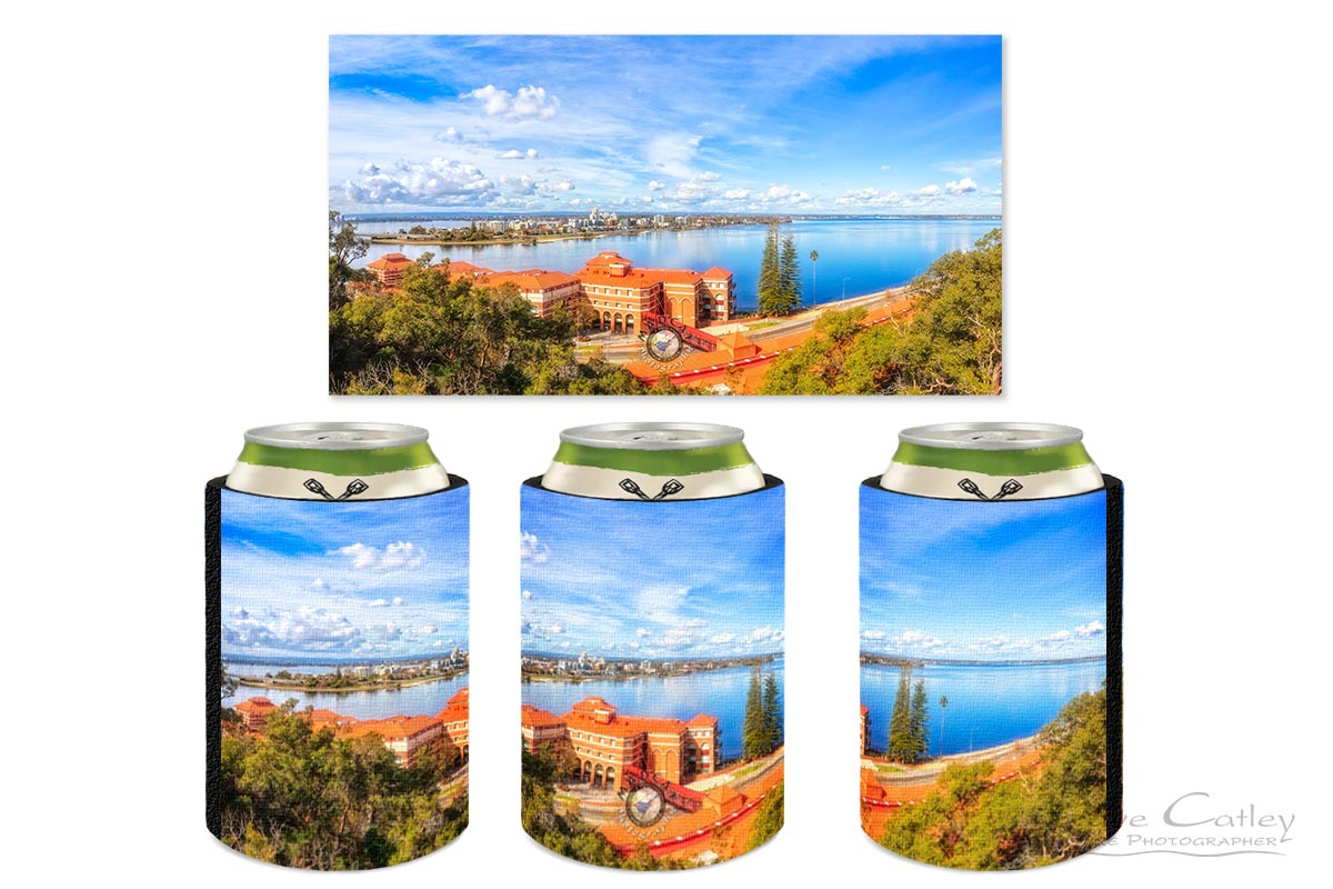 South of the Brewery - Swan Brewery, Kings Park, Perth, Western Australia, Landscape Stubby Holder (KPP1.2-V3-SH1)