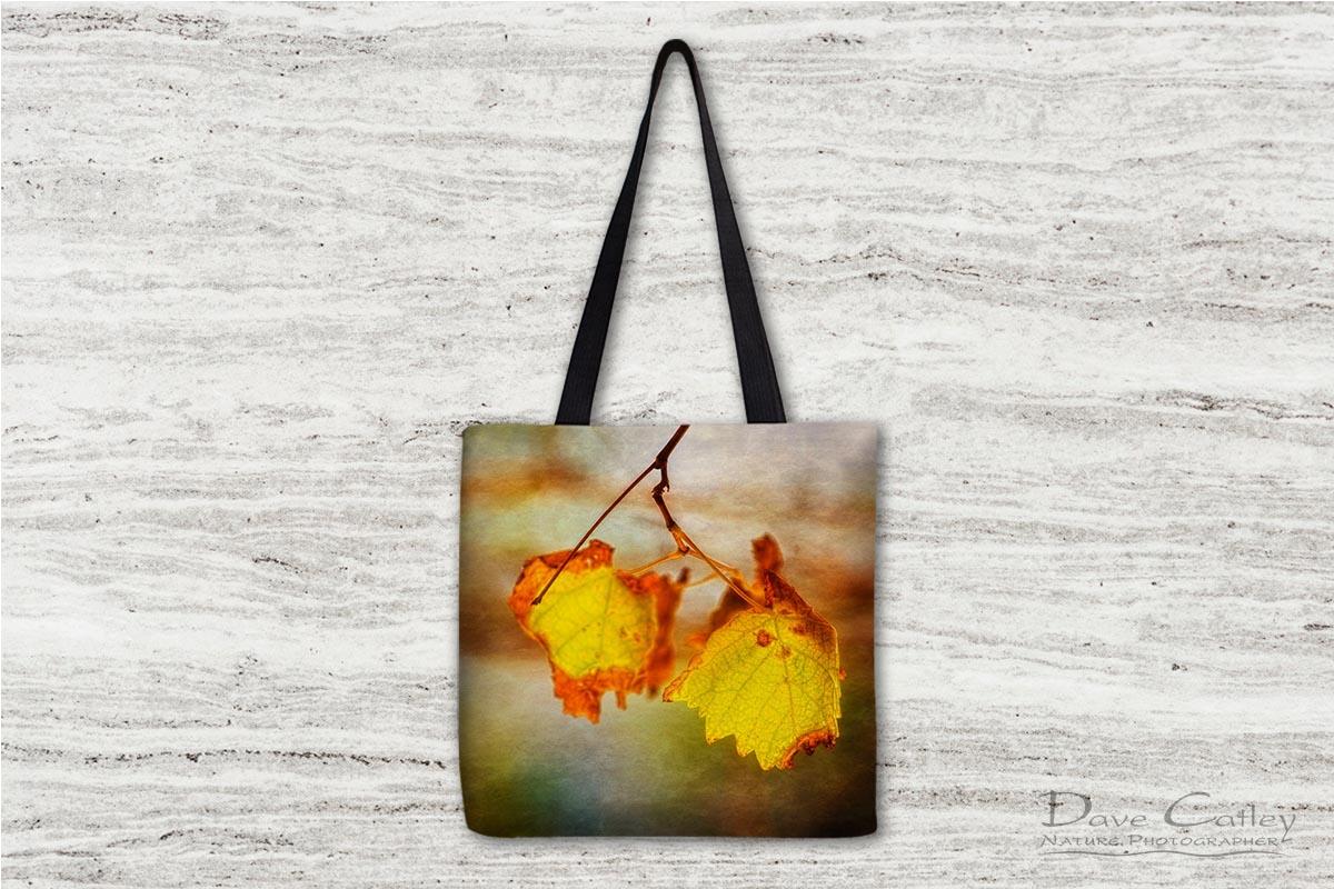 Autumn Vines 1 - Vine Leaves, Mindarie, Perth, Western Australia, Flora Tote Bag (CVA1.1-V1-TB1)