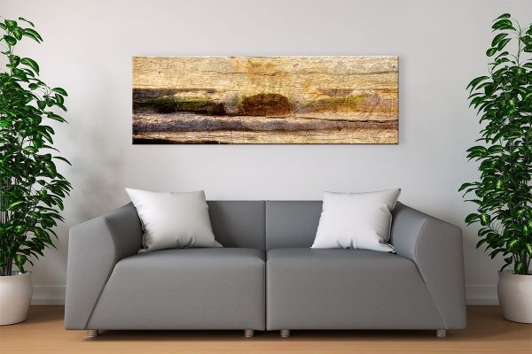 Waves on Wood, Redgate Beach, Margaret River Region, Western Australia - Living Room Canvas