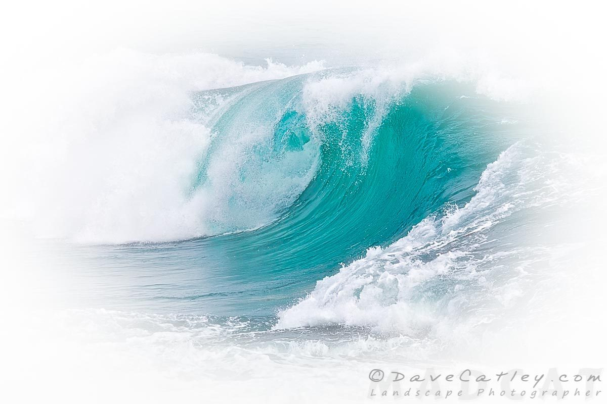 White Thunder 1, Indian Ocean Waves, Perth, Western Australia - Photographic Art