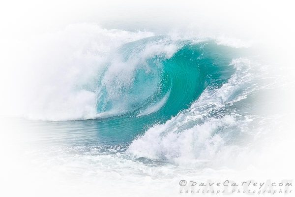 White Thunder 3, Indian Ocean Waves, Perth, Western Australia - Photographic Art