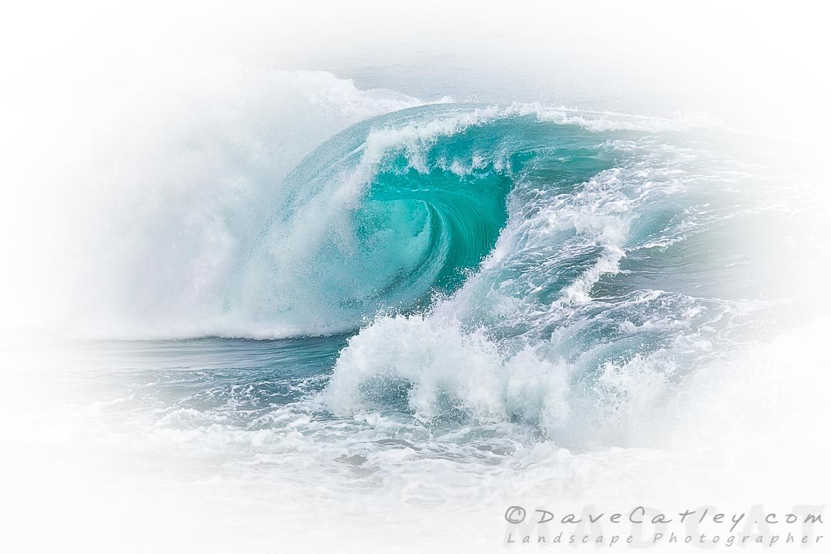 White Thunder 4, Indian Ocean Waves, Perth, Western Australia - Photographic Art